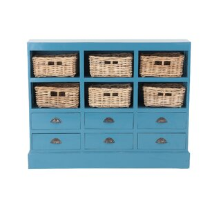 Verlene 6 Drawer Storage Accent Chest by Beachcrest Home