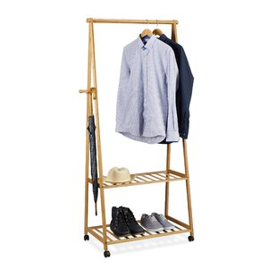 Hines Bamboo Coat Rack By Gracie Oaks