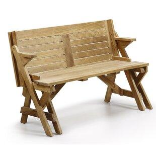 Bailee Teak Bench By Gracie Oaks