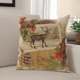 Hatton Woodland Christmas Pillow Cover