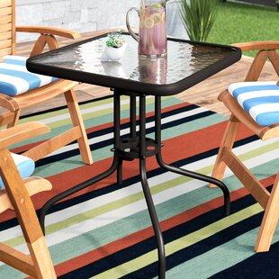 Berowalt Patio Bistro Table by Highland Dunes Purchase