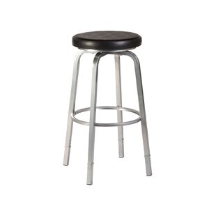 Neeman Adjustable Height Swivel Bar Stool by Hillsdale Furniture