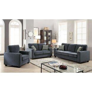 Keener 3 Piece Living Room Set By Latitude Run