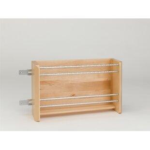 Rev-A-Shelf Foil Rack Cabinet Door Organizer