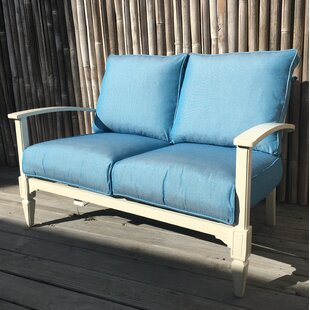 Rosecliff Heights Cross Loveseat with Sun..