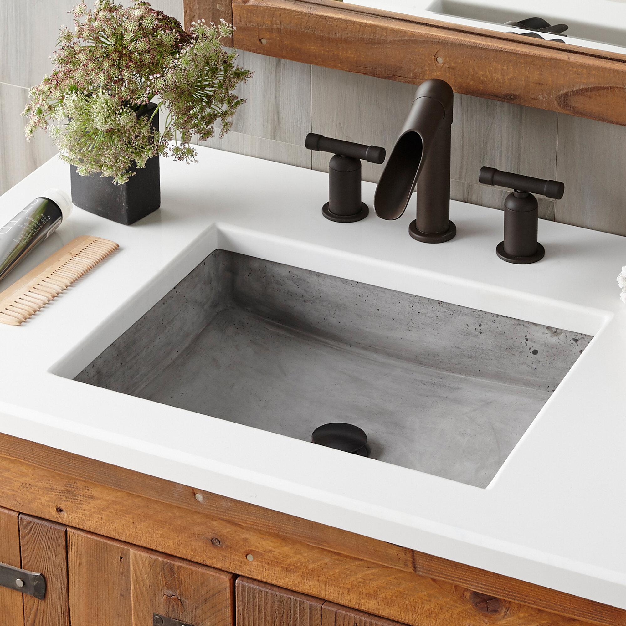 Native Trails Stone Handmade Rectangular Vessel Bathroom Sink Reviews Wayfair