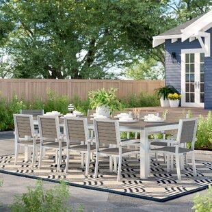 Hillard 11 Piece Dining Set by Sol 72 Outdoor