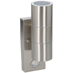 Descartes Stainless Steel Outdoor Lamp With Sensor By Sol 72 Outdoor