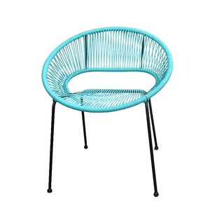 Ehrlich Stacking Patio Dining Chair