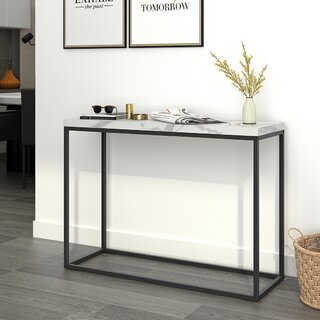 "Gober 42.13"" Console Table by Mercer41 SKU:CA620271 Check Price"