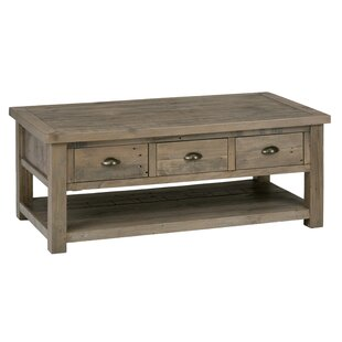 Delora Wooden Coffee Table with Storage