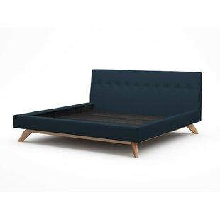 Luna Upholstered Platform Bed by TrueModern