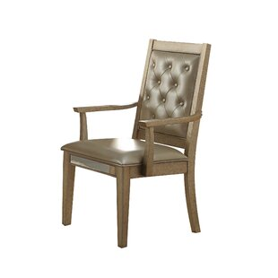 Isai Upholstered Dining Arm Chair (Set of..