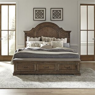 Hayworth Queen Low Profile Storage Standard Bed by Rosalind Wheeler