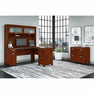 Red Barrel Studio Cosner L-shaped Desk Office Suite