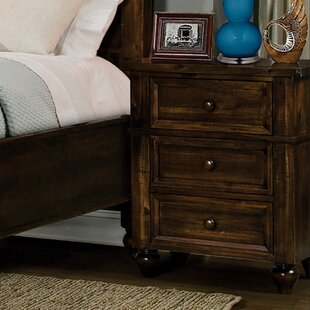 Desaree 3 Drawer Nightstand