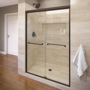 Great choice Infinity 59 x 70 Bypass Semi-Frameless Shower Door ByBasco