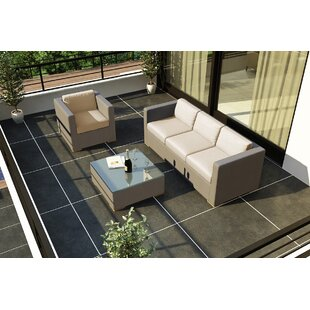 Harmonia Living Element 3 Piece Teak Sofa..