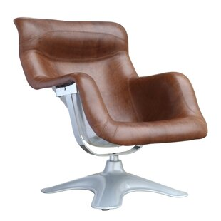 Brayden Studio Bridgeport Swivel Lounge Chair