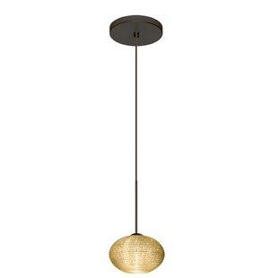 Besa Lighting Lasso 1 Bulb Globe Pendant