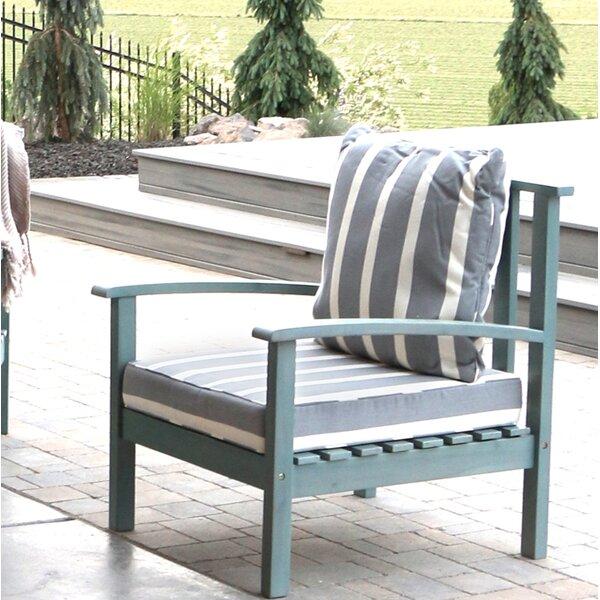 Acacia Wood Chair   Wayfair