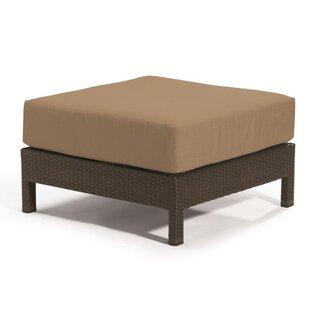 Evo Ottoman with Cushion by Tropitone