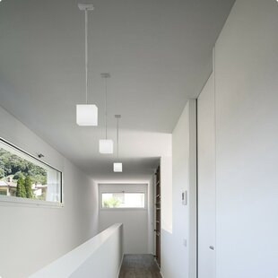 Kubik 1-Light Square/Rectangle Pendant by ZANEEN design