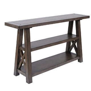 "Pappalardo 58"" Console Table by Gracie Oaks SKU:DA931859 Details"