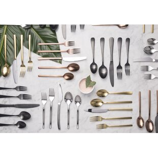 Save  sc 1 st  Wayfair & Wood Handled Flatware | Wayfair