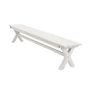 Dhairya Wooden Bench By Sol 72 Outdoor