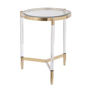 Modern Contemporary Art Deco Side Table Allmodern