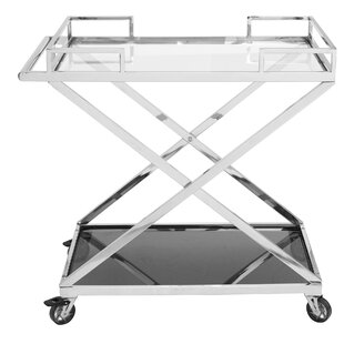 Mcginnis Bar Cart by Rosdorf Park