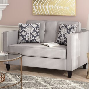 Compare Cia Serta Upholstery Loveseat by Willa Arlo Interiors Reviews (2019) & Buyer's Guide