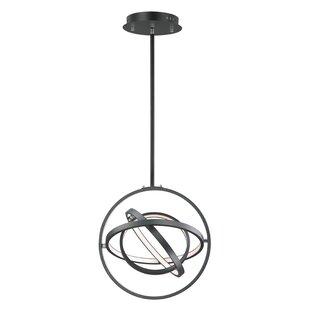 Ananke 4-Light LED Globe Chandelier by Orren Ellis