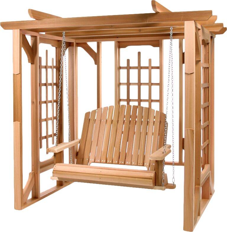 All Things Cedar 6 Ft. W x 6 Ft. D Wood Pergola