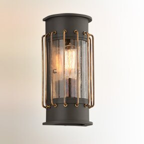Remus 1-Light Outdoor Flush Mount By 17 Stories Outdoor Lighting
