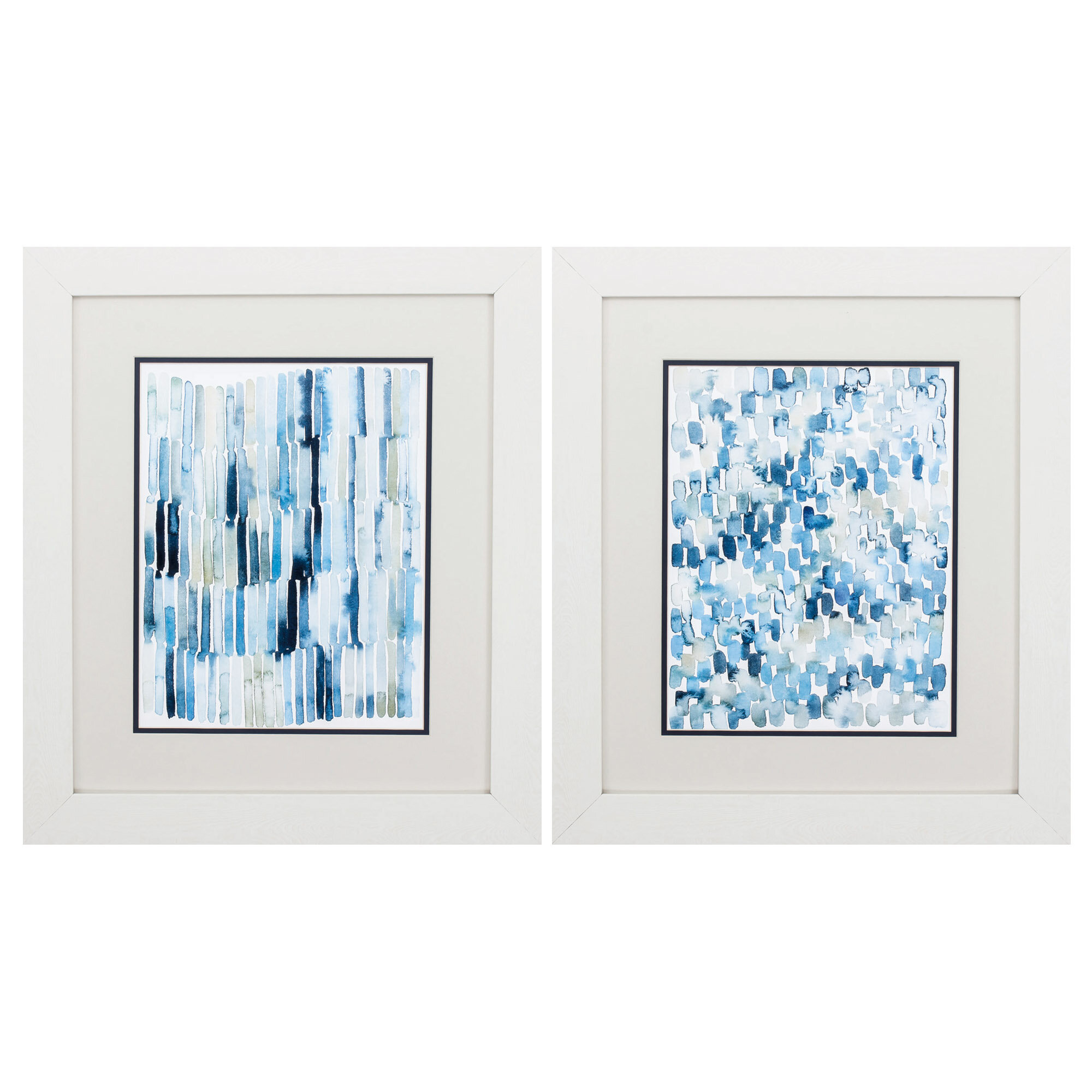 Dovecove Beach Wash 2 Piece Picture Frame Painting Print Set On Paper Wayfair