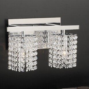 Everly Quinn Komi 2-Light Vanity Light