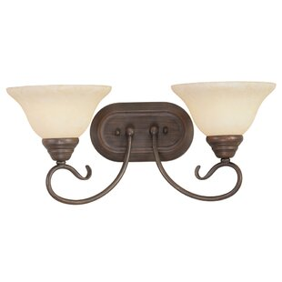 Best Price Lewisboro 2-Light Vanity Light By Darby Home Co