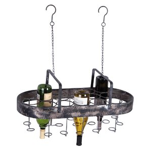 19 Bottle Hanging Wine Bottle Rack by Foreside Home & Garden