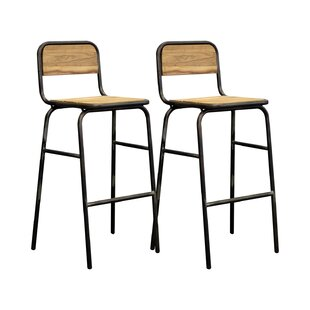 Avia 76cm Bar Stool (Set Of 2) By Williston Forge