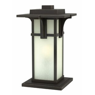 Compare prices Manhattan Outdoor 1-Light Pier Mount Light By Hinkley Lighting