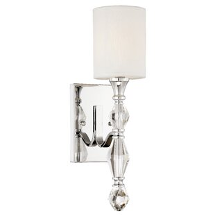 Savings Tudor Row 1-Light Armed Sconce By Designers Fountain