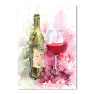 Grape Wine Wall Art Wayfair
