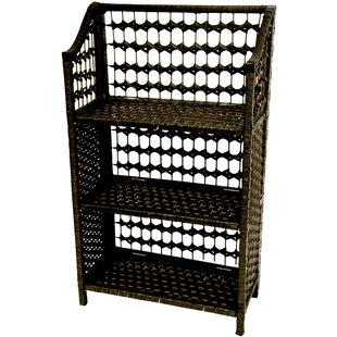 Horn Standard Bookcase by World Menagerie