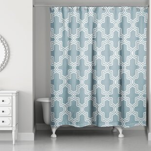 Brody Tile Single Shower Curtain