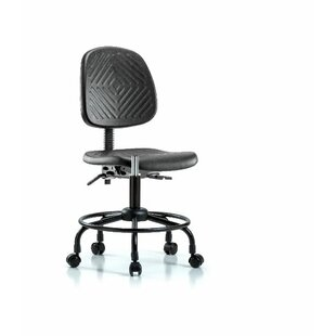 Symple Stuff Yazmin Round Tube Base Desk Height Office Chair