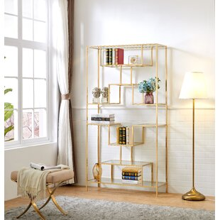 Lawrence Hill Tall Etagere Bookcase Everly Quinn