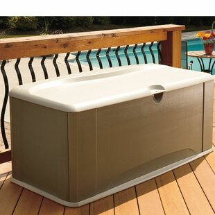 120 Gallons Resin Deck Box by Rubbermaid