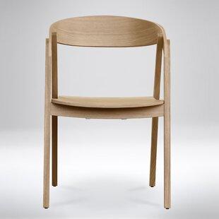 George Oliver Barner Solid Wood Dining Chair (Set of 4)